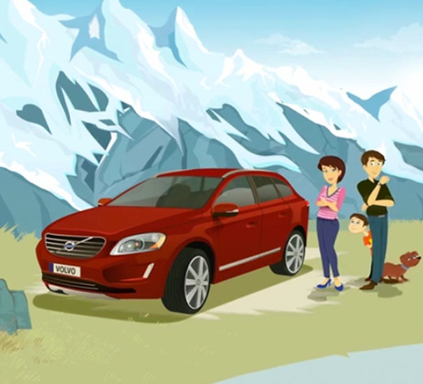 Volvo Mobile Campaign